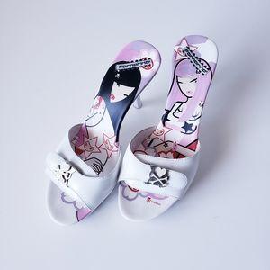 Tokidoki x Fornarina heels